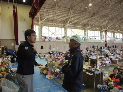 東日本大震災にて被災地を訪問