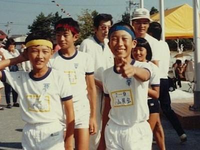 磐田西小学校の運動会